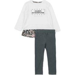 Kleidung Mädchen Kleider & Outfits Losan 726 8036AD Weiß
