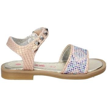 Schuhe Mädchen Sandalen / Sandaletten Asso 55930 Rosa