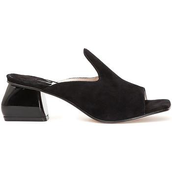 Schuhe Damen Pantoffel Café Noir ME573 Schwarz