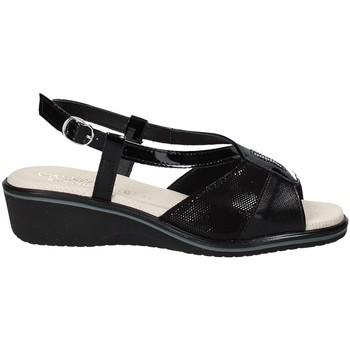 Schuhe Damen Sandalen / Sandaletten Susimoda 270414-01 Schwarz