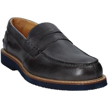 Schuhe Herren Slipper Exton 9102 Grau