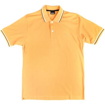 Kleidung Herren Polohemden Key Up 2Q70G 0001 Gelb