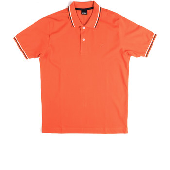 Kleidung Herren Polohemden Key Up 2Q70G 0001 Orange