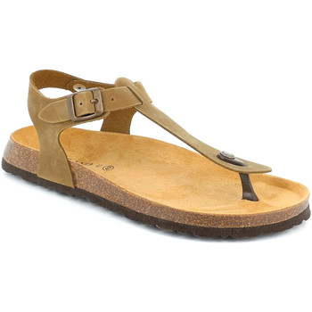 Schuhe Herren Sandalen / Sandaletten Grunland SB3221 Braun