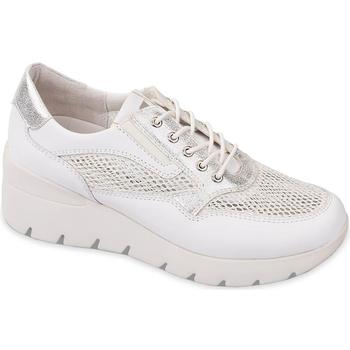 Schuhe Damen Sneaker Low Valleverde 18252 Weiß