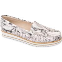 Schuhe Damen Slipper Valleverde 11108 Beige
