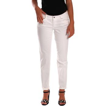 Kleidung Damen Slim Fit Jeans Gas 355661 Weiß