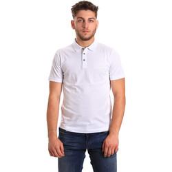 Kleidung Herren Polohemden Ea7 Emporio Armani 8NPF21 PJ48Z Weiß