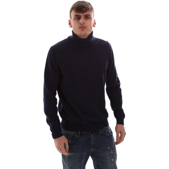 Kleidung Herren Pullover Antony Morato MMSW00975 YA200055 Blau