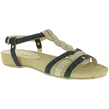 Schuhe Damen Sandalen / Sandaletten Mally 3828 Schwarz