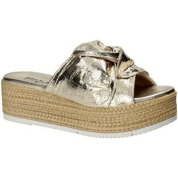 Schuhe Damen Pantoffel Pregunta IL02402-CL Gelb