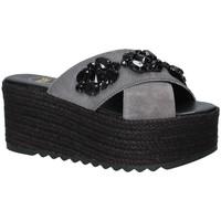 Schuhe Damen Pantoffel Exé Shoes G4700885736T Schwarz