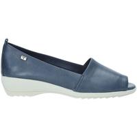 Schuhe Damen Sandalen / Sandaletten Valleverde 41141 Blau