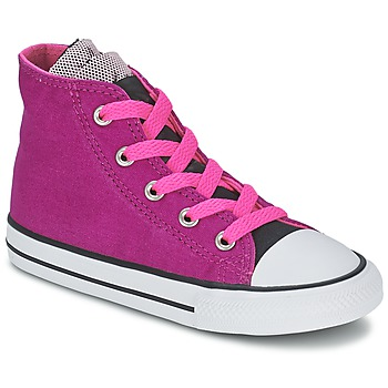 Schuhe Mädchen Sneaker High Converse ALL STAR PARTY HI Rose
