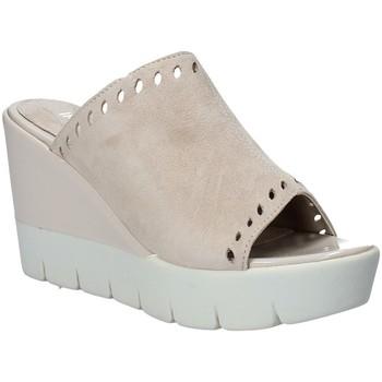 Schuhe Damen Pantoffel Impronte IL91611A Beige