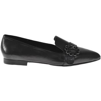 Schuhe Damen Slipper Elvio Zanon I3203B Schwarz