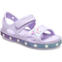 Schuhe Kinder Sandalen / Sandaletten Crocs 206366 Rosa