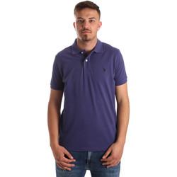 Kleidung Herren Polohemden U.S Polo Assn. 41029 51244 Blau