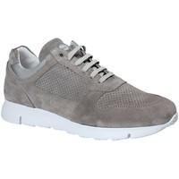 Schuhe Herren Sneaker Low Exton 332 Grau