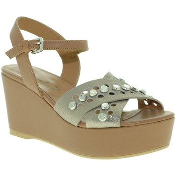 Schuhe Damen Sandalen / Sandaletten Mally 6237 Braun
