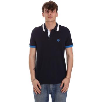 Kleidung Herren Polohemden Gaudi 011BU64043 Blau