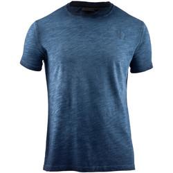 Kleidung Herren T-Shirts Lumberjack CM60343 004 517 Blau