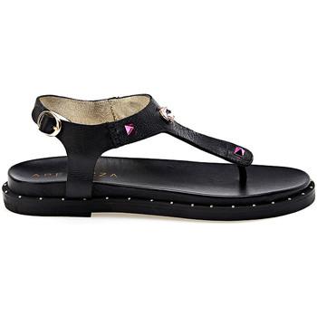 Schuhe Damen Sandalen / Sandaletten Apepazza JPL06 Schwarz