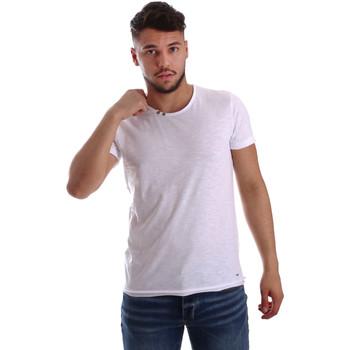 Kleidung Herren T-Shirts Key Up 233SG 0001 Weiß