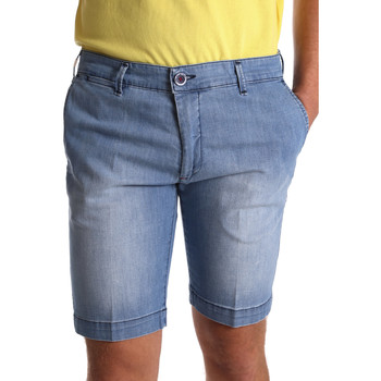 Kleidung Herren Shorts / Bermudas Sei3sei PZV132 7118 Blau