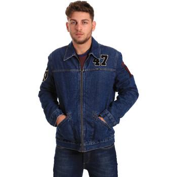 Kleidung Herren Jeansjacken Wrangler W4580512L Blau