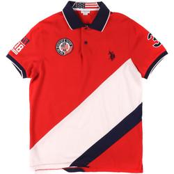 Kleidung Herren Polohemden U.S Polo Assn. 43771 41029 Rot