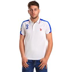 Kleidung Herren Polohemden U.S Polo Assn. 43770 41029 Weiß