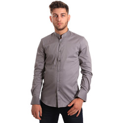 Kleidung Herren Langärmelige Hemden Antony Morato MMSL00376 FA450001 Grau
