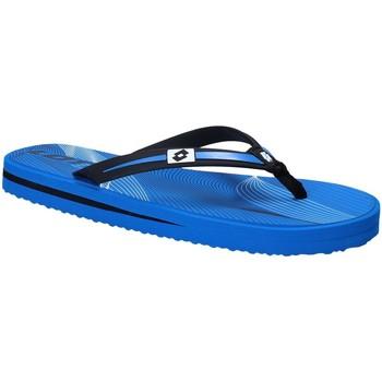 Schuhe Herren Zehensandalen Lotto T4761 Blau