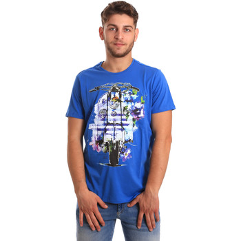 Kleidung Herren T-Shirts Gaudi 811BU64154 Blau
