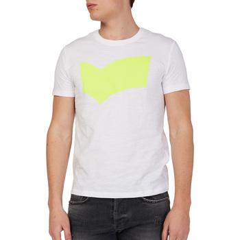 Kleidung Herren T-Shirts Gas 542973 Weiß