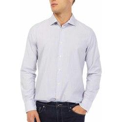 Kleidung Herren Langärmelige Hemden Gas 151144 Blau