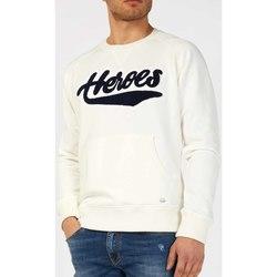 Kleidung Herren Sweatshirts Gas 552303 Weiß