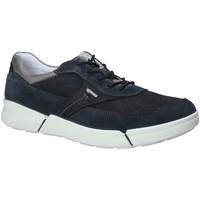 Schuhe Herren Sneaker Low IgI&CO 1126 Blau