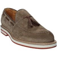 Schuhe Herren Slipper Exton 675 Braun