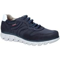 Schuhe Herren Sneaker Low CallagHan 12903 Blau