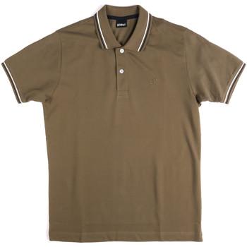 Kleidung Herren Polohemden Key Up 2Q70G 0001 Grün