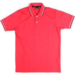 Kleidung Herren Polohemden Key Up 2Q70G 0001 Rosa