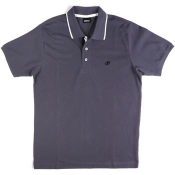 Kleidung Herren Polohemden Key Up 2Q711 0001 Blau