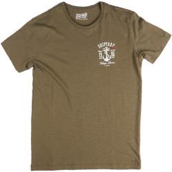 Kleidung Herren T-Shirts Key Up 2G77S 0001 Grün