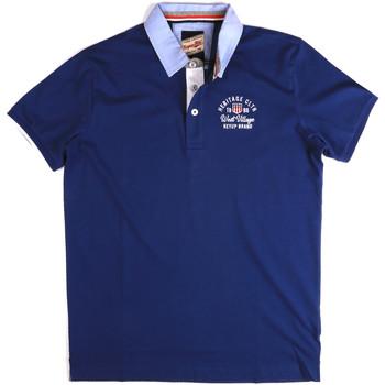 Kleidung Herren Polohemden Key Up 2G85R 0001 Blau