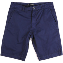 Kleidung Herren Shorts / Bermudas Key Up 2A01P 0001 Blau