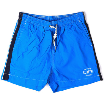 Kleidung Herren Badeanzug /Badeshorts Key Up 2H17X 0001 Blau