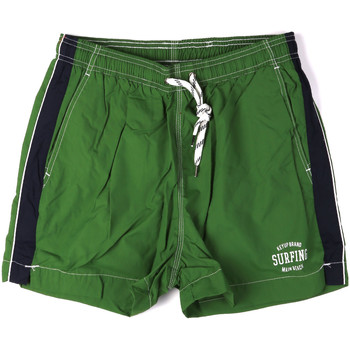 Kleidung Herren Badeanzug /Badeshorts Key Up 2H17X 0001 Grün
