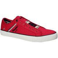Schuhe Herren Sneaker Low Wrangler WM181033 Rot